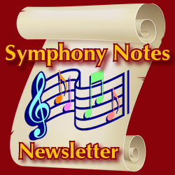 Symphony Notes newsletter