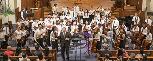 LAS youth orchestra concert